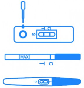 Pregnancy Test Kit Cassette, Strip and Midstream Forms