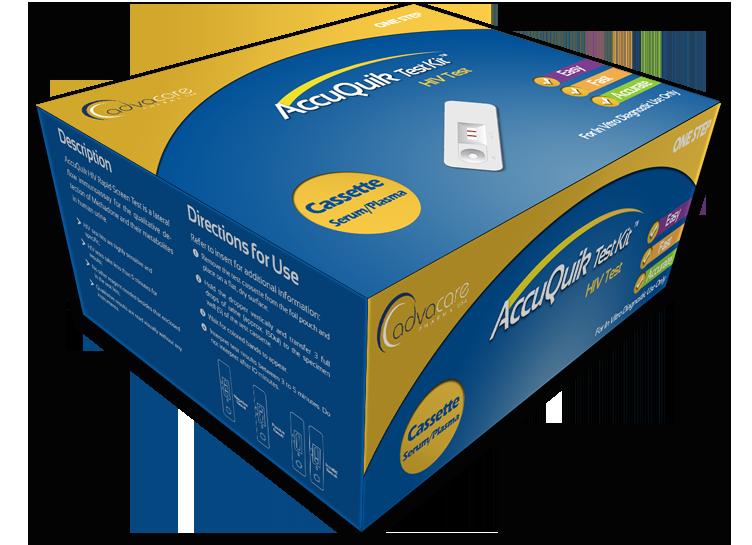 Product Hiv Accuquik Test Kits