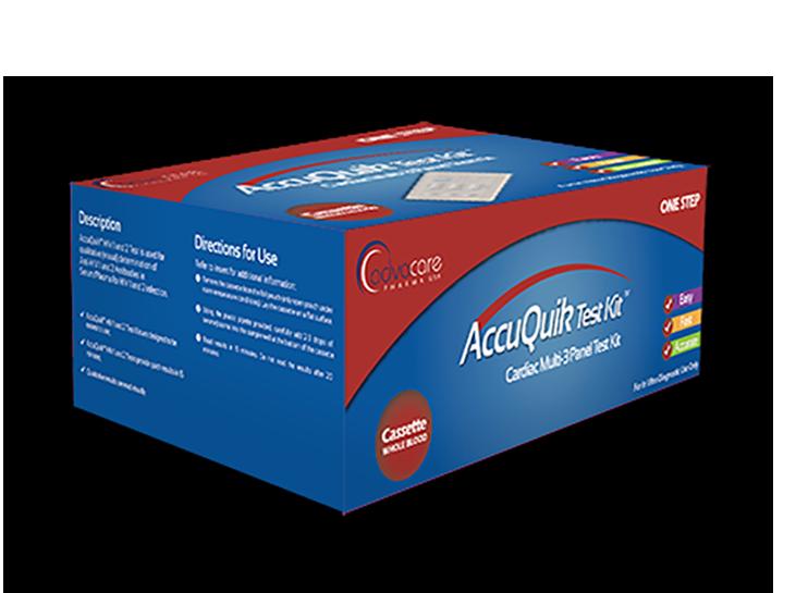 Cardiac Multi-3 Panel Test Kit